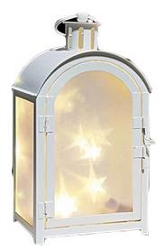 Фото 1 к товару Фонарь декоративный Luca Lighting 11х7,5х20 см белый