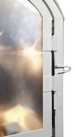 Фото 3 к товару Фонарь декоративный Luca Lighting 11х7,5х20 см белый