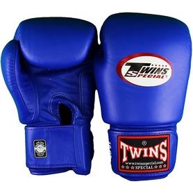 Фото 1 к товару Перчатки боксерские Twins BGVL-3-BU синие