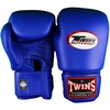 Перчатки боксерские Twins BGVL-3-BU синие - фото 1