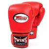 Перчатки боксерские Twins BGVL-3-RD красные - фото 1