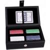 Набор для игры в покер в кожаном кейсе Duke PATF001 - фото 1