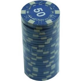 """Фишки для покера с номиналом """"50"""" Duke"""