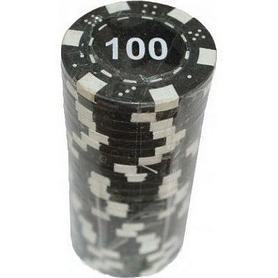 """Фишки для покера с номиналом """"100"""" Duke"""