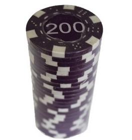 """Фишки для покера с номиналом """"200"""" Duke"""