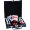 Набор для игры в покер в кожаном кейсе Duke DL-100 - фото 1