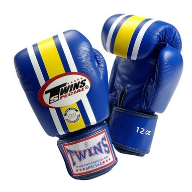 Перчатки боксерские Twins FBGV-3-BU синие
