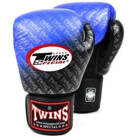 Фото 5 к товару Перчатки боксерские Twins FBGLL-TW1-BU синие