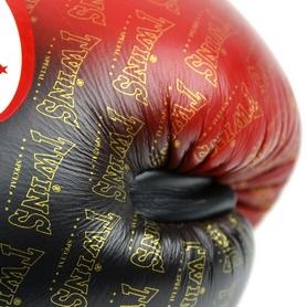 Фото 6 к товару Перчатки боксерские Twins FBGLL-TW1-RD красные
