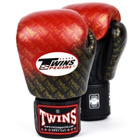 Фото 7 к товару Перчатки боксерские Twins FBGLL-TW1-RD красные