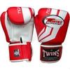 Перчатки боксерские Twins FBGV-43W-RD красные - фото 1