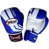Перчатки боксерские Twins FBGV-43W-BU синие - фото 1
