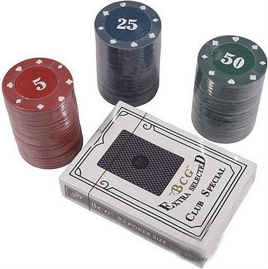 Набор для игры в покер с номиналом Duke CC4060