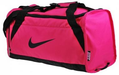 Сумка спортивная Nike Womens Brasilia 6 Duffel S Pink