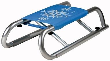 Санки зимние Alpen Gaudi AlpenAlu Foldable Sled Skull синие