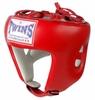 Шлем боксерский открытый Twins HGL-8-RD красный - фото 1