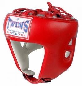 Шлем боксерский открытый Twins HGL-8-RD красный