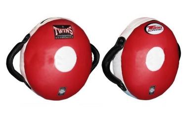Макивара круглая Twins PML-12-RD-BK красно-черная