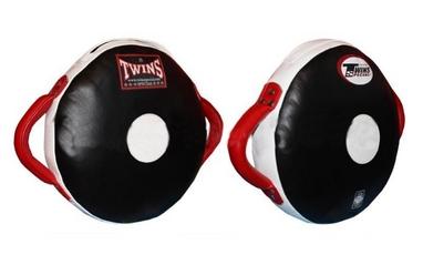 Макивара круглая Twins PML-12-BK-RD черно-красная