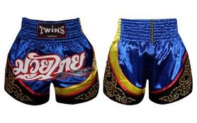 Трусы для тайского бокса Twins TBS-800 синие