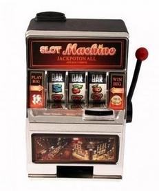 """Игровой мини-автомат """"Однорукий бандит"""" Duke TM001"""