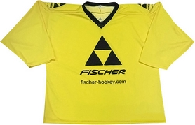 Майка хоккейная командная Fischer Team Jersey 2015/2016 Yellow