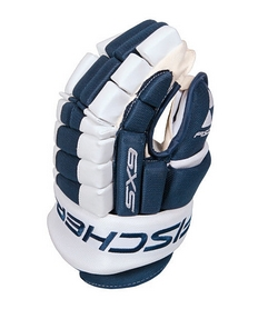 Перчатки хоккейные Fischer Hockey SX9 Gloves 2015/2016 Blue/White