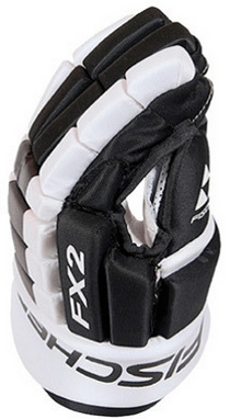 Перчатки хоккейные Fischer Hockey FX2 Gloves 2015/2016 Black/White