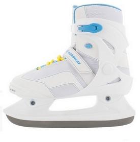 Коньки ледовые женские Nordway LEA Women's fitness ice skates бело-голубые