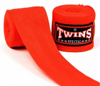 Бинты боксерские Twins CH-5-RD-5 красные