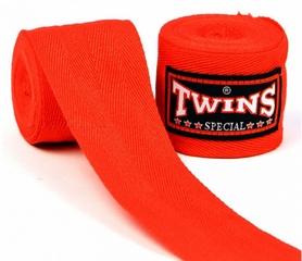 Фото 1 к товару Бинты боксерские Twins CH-5-RD-5 красные