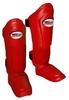 Защита для ног (голень + стопа) Twins SGL-10-RD красная - фото 1