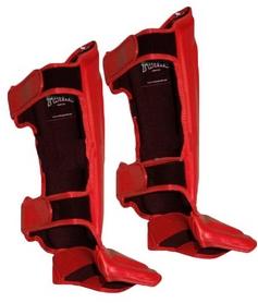 Фото 2 к товару Защита для ног (голень + стопа) Twins SGL-10-RD красная