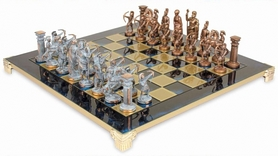 Фото 2 к товару Шахматы Manopoulos 28x28 см