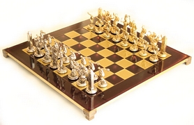 "Шахматы Manopoulos ""Олимпийские игры"" 54х54 см S17RED"