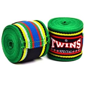Бинты боксерские Twins CH-2-GN-5 зеленые