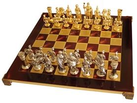 """Шахматы Manopoulos """"Греко-римские"""" 44х44 см S11RED"""