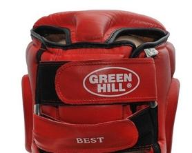 Фото 3 к товару Шлем боксерский Green Hill Best HGB-4016 красный