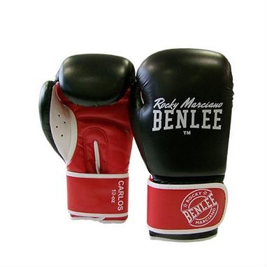Перчатки боксерские Benlee Carlos черно-красные