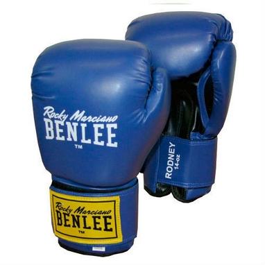 Перчатки боксерские Benlee Rodney сине-черные