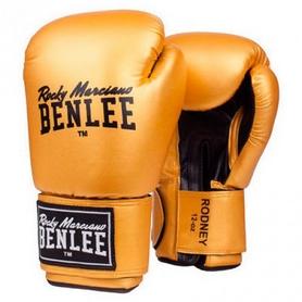 Перчатки боксерские Benlee Rodney золотисто-черные