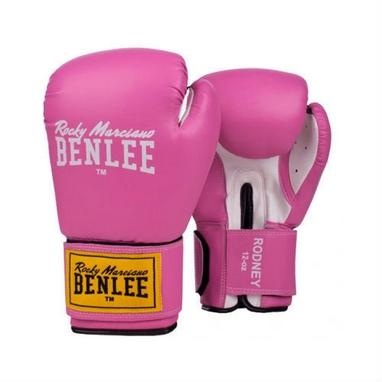 Перчатки боксерские Benlee Rodney розово-белые