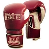 Перчатки боксерские Benlee Graziano бордовые - фото 1