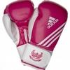 Перчатки боксерские Adidas Fitness пурпурно-белый - фото 1