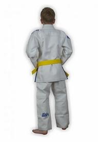 Фото 3 к товару Кимоно для бразильского джиу-джитсу детское Muri Oto Kiddo 0300 белое