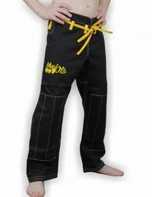 Фото 4 к товару Кимоно для бразильского джиу-джитсу детское Muri Oto Kiddo 0301 черное