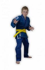 Фото 3 к товару Кимоно для бразильского джиу-джитсу детское Muri Oto Kiddo 0302 синее