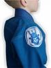 Кимоно для бразильского джиу-джитсу детское Muri Oto Kiddo 0302 синее - фото 4