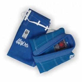 Фото 7 к товару Кимоно для бразильского джиу-джитсу детское Muri Oto Kiddo 0302 синее