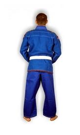 Фото 2 к товару Кимоно для бразильского джиу джитсу Muri Oto 0310 синее
